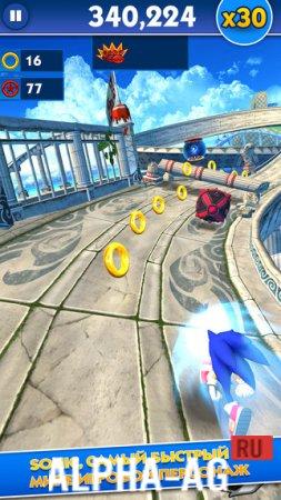 Скачать игру на андроид соник dash