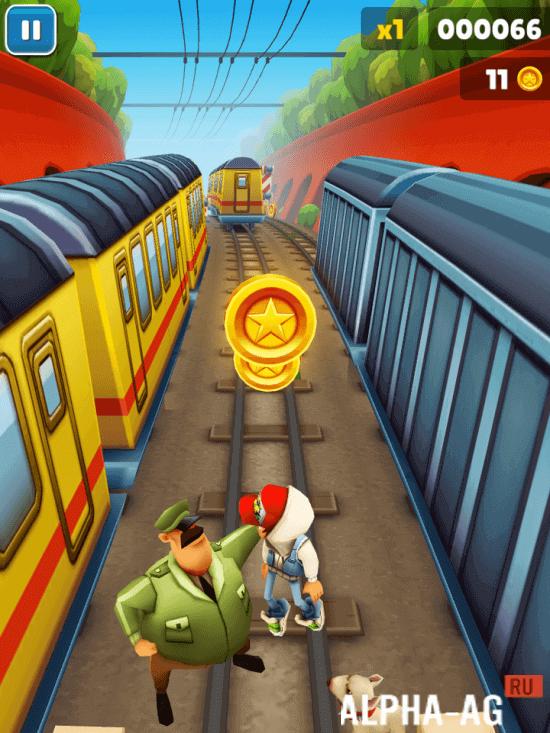 игра Subway Surfers старая версия скачать на андроид img-1