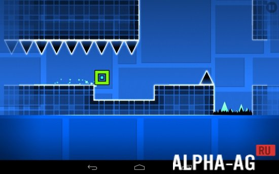 Игровой процесс geometry dash