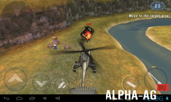 вертолетная битва 3d полет мод