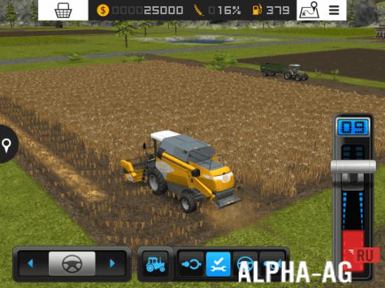 скачать игру Farming Simulator 2016 - фото 4