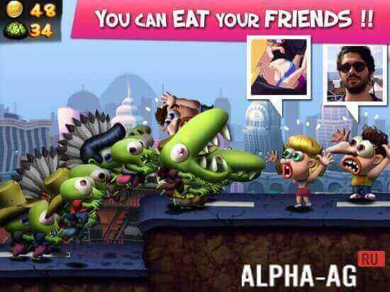 Скачать игру зомби цунами на андроид с бесконечными деньгами