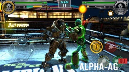 Скриншот Real Steel Champions №3