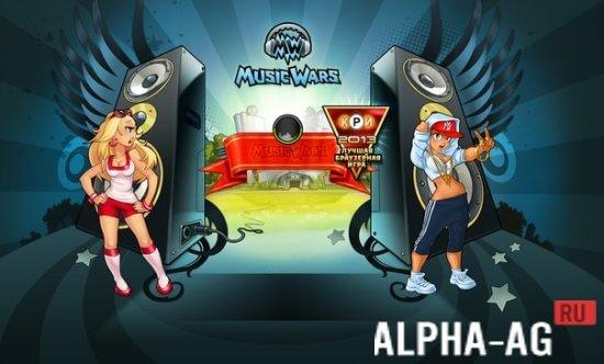 скачать игру Music Wars бесплатно на андроид img-1