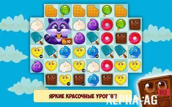 скачать бесплатно игру долина сладостей на планшет