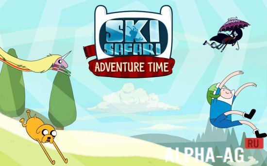 Скриншот Ski Safari: Adventure Time №1