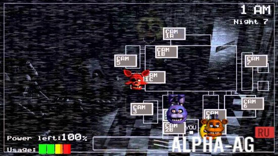 Скриншот Five Nights at Freddy's 1 №2