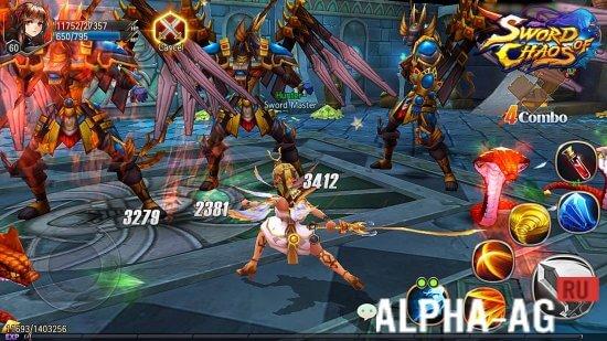 Скачать Sword of Chaos - Меч Хаоса на андроид