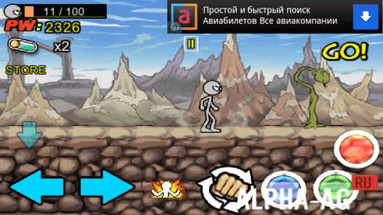 Скриншот Anger of Stick 3 №3