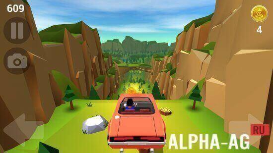 Машина без тормозов #9 мультик игра для детей. Faily brakes.