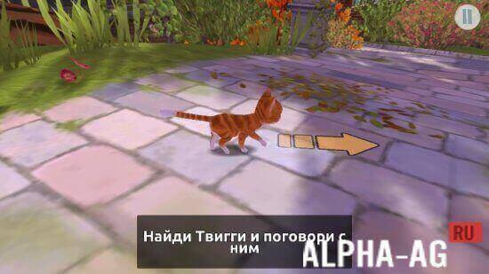 Mp4 скачать кот гром и заколдованный дом