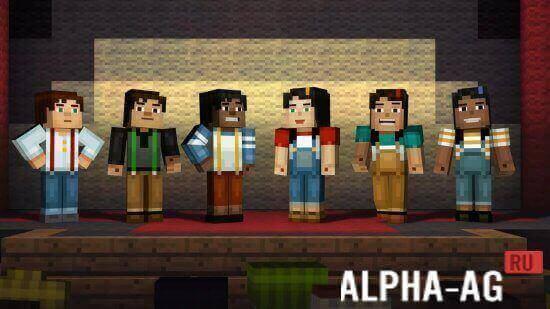 Minecraft story mode скачать на андроид бесплатно.