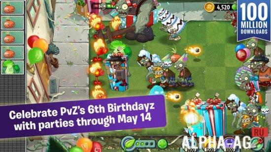 Plants vs Zombies 2 Скриншот №2