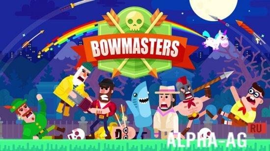 скачать bowmasters взлом на всех персонажей