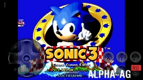 Sonic and knuckles & sonic 3 (jue) sega genesis(sega mega drive.